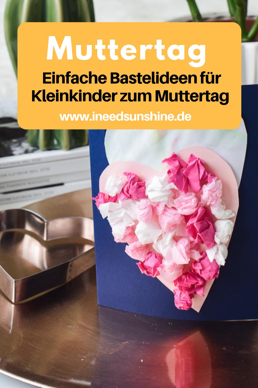 """Basteln Mit Kleinkindern: """"ostern, Frühling, Muttertag innen Muttertagsgeschenk Basteln Kleinkinder"""