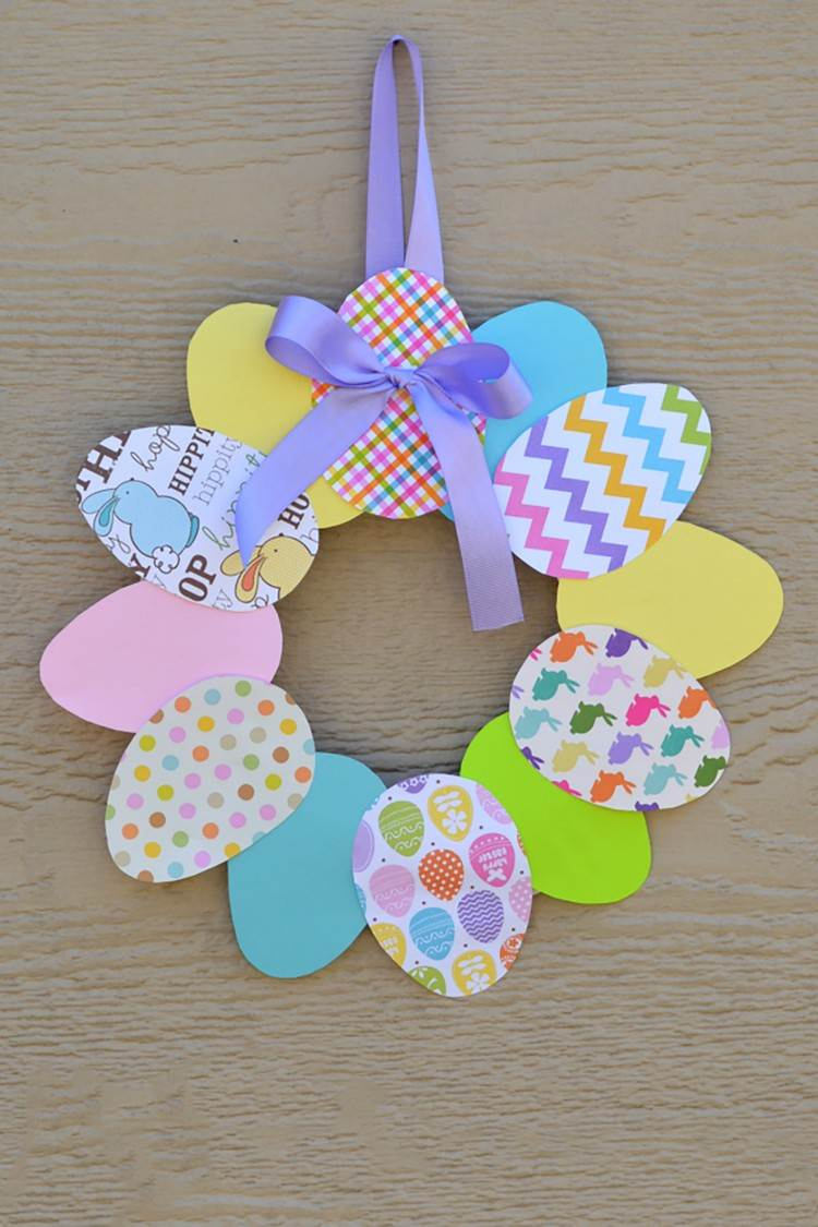 Basteln Zu Ostern Mit Kindern - Wundervolle Ideen Für bei Basteln Mit Kindern Frühling Vorlagen