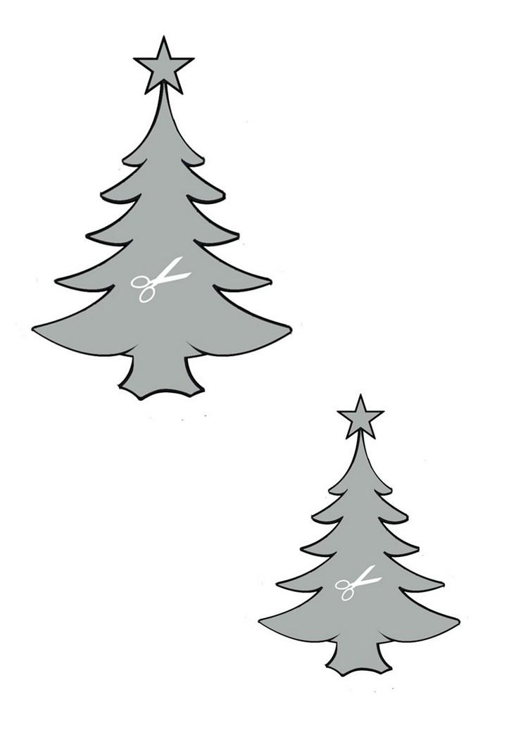 Bastelvorlagen Zu Weihnachten: 30 Weihnachtsmotive Zum für Weihnachtsdeko Basteln Vorlagen Kostenlos