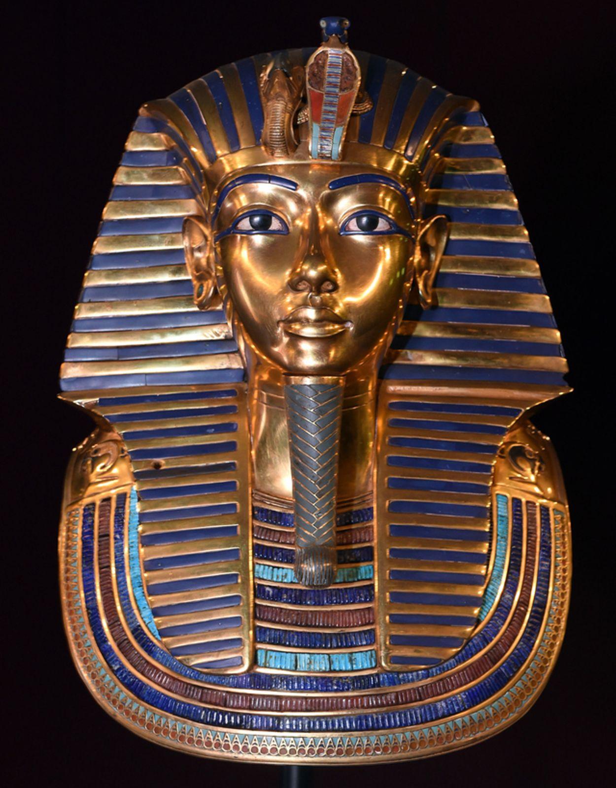 Beim Barte Des Pharao | Tages-Anzeiger bestimmt für Pharao Totenmaske