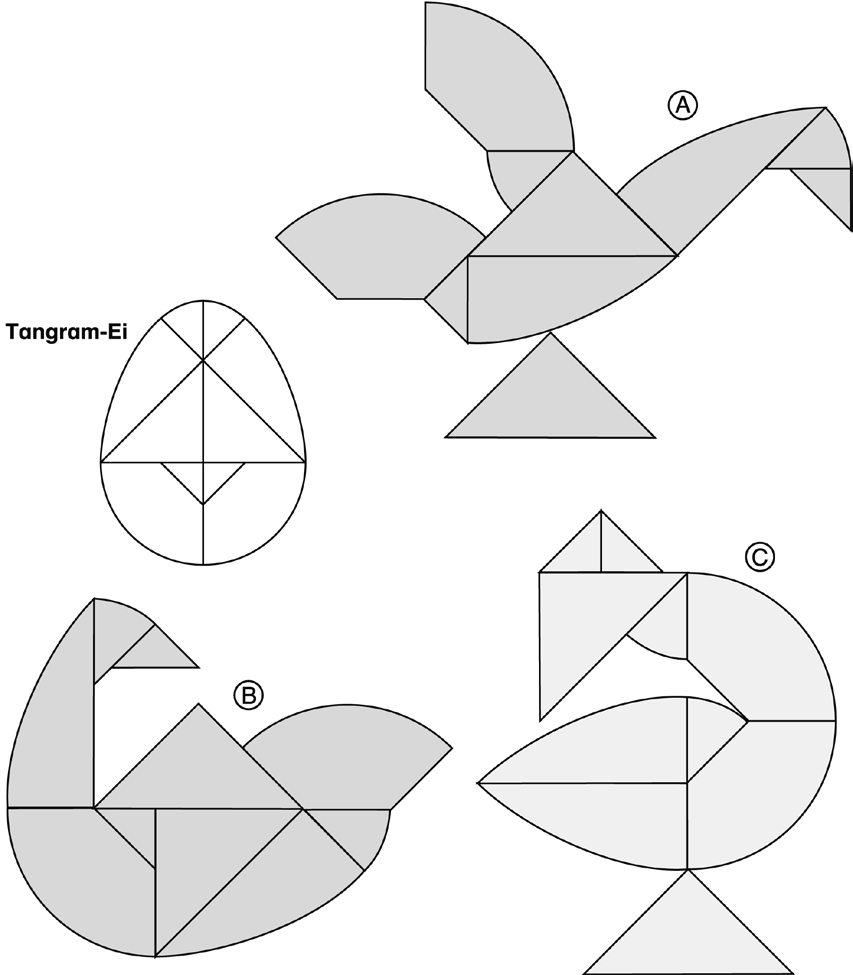 Beispiel 12 Legespiel Tangram - Pdf Free Download in Tangram Vorlagen