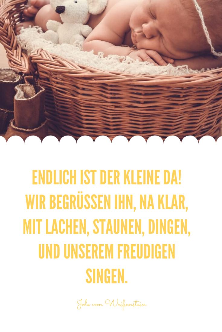 Sprüche Zur Geburt Des Eigenen Kindes - kinderbilder ...