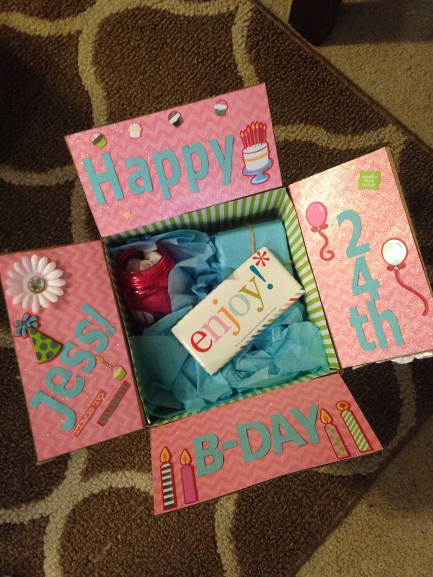 Best Friend Birthday Box! Decorate The Inside Of The Box innen Coole Geschenke Für Beste Freundin