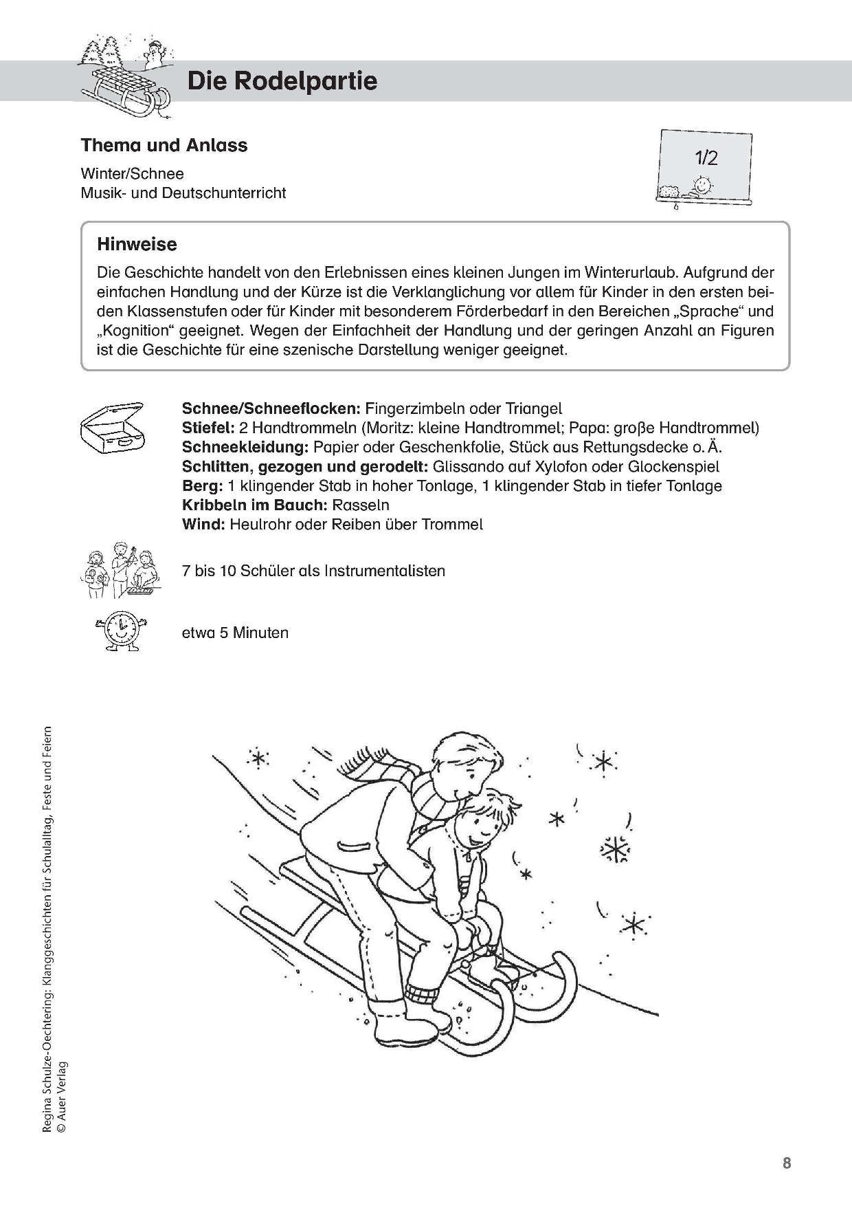 Best-Of Unterrichtsmaterial 2017 Für Die Grundschule bestimmt für Klanggeschichten Weihnachten Kostenlos