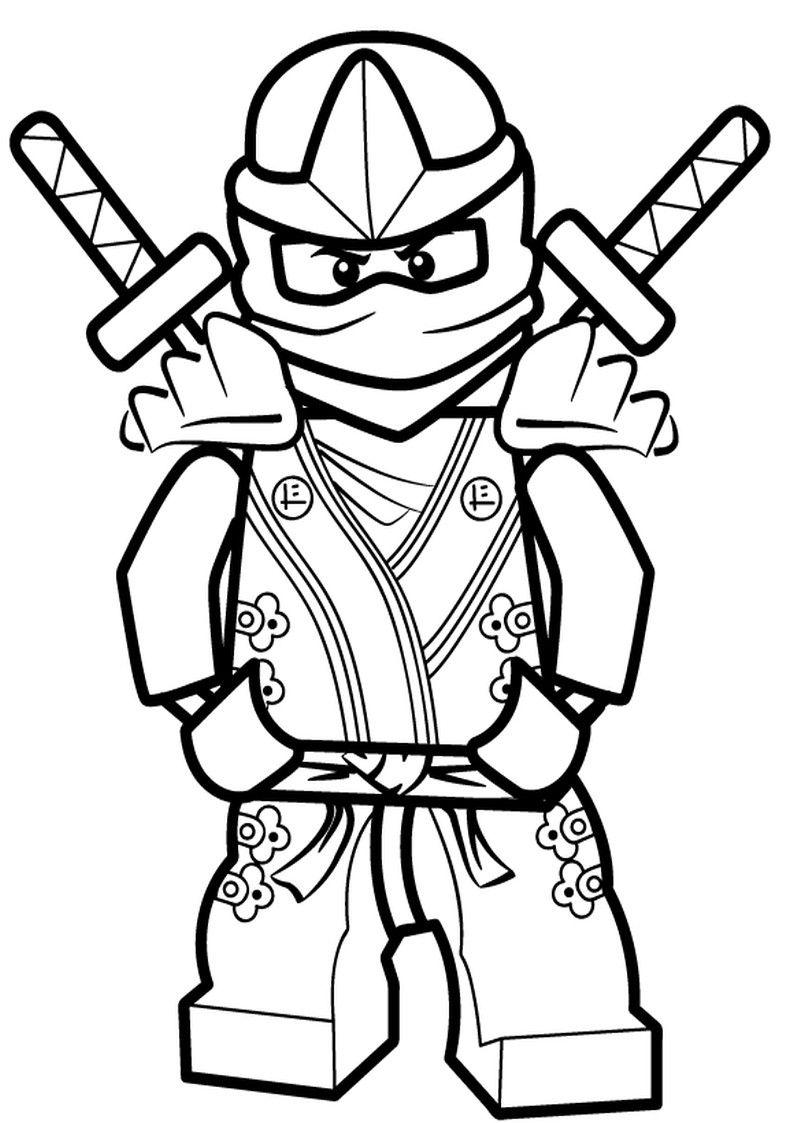 Beste 20 Ninja Ausmalbilder | Ninjago Ausmalbilder innen Malvorlage Ninjago