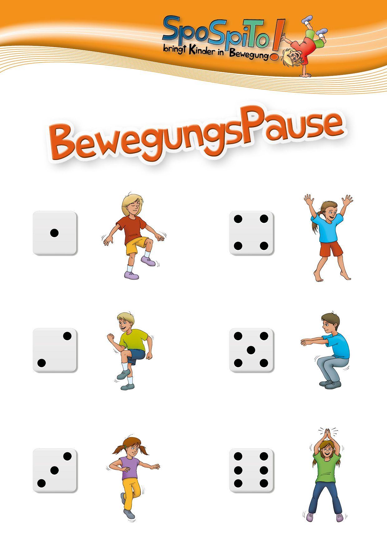 Bewegungspausen Sind Eine Wertvolle Möglichkeit, Um Nach für Bewegungsspiele Für Kindergartenkinder