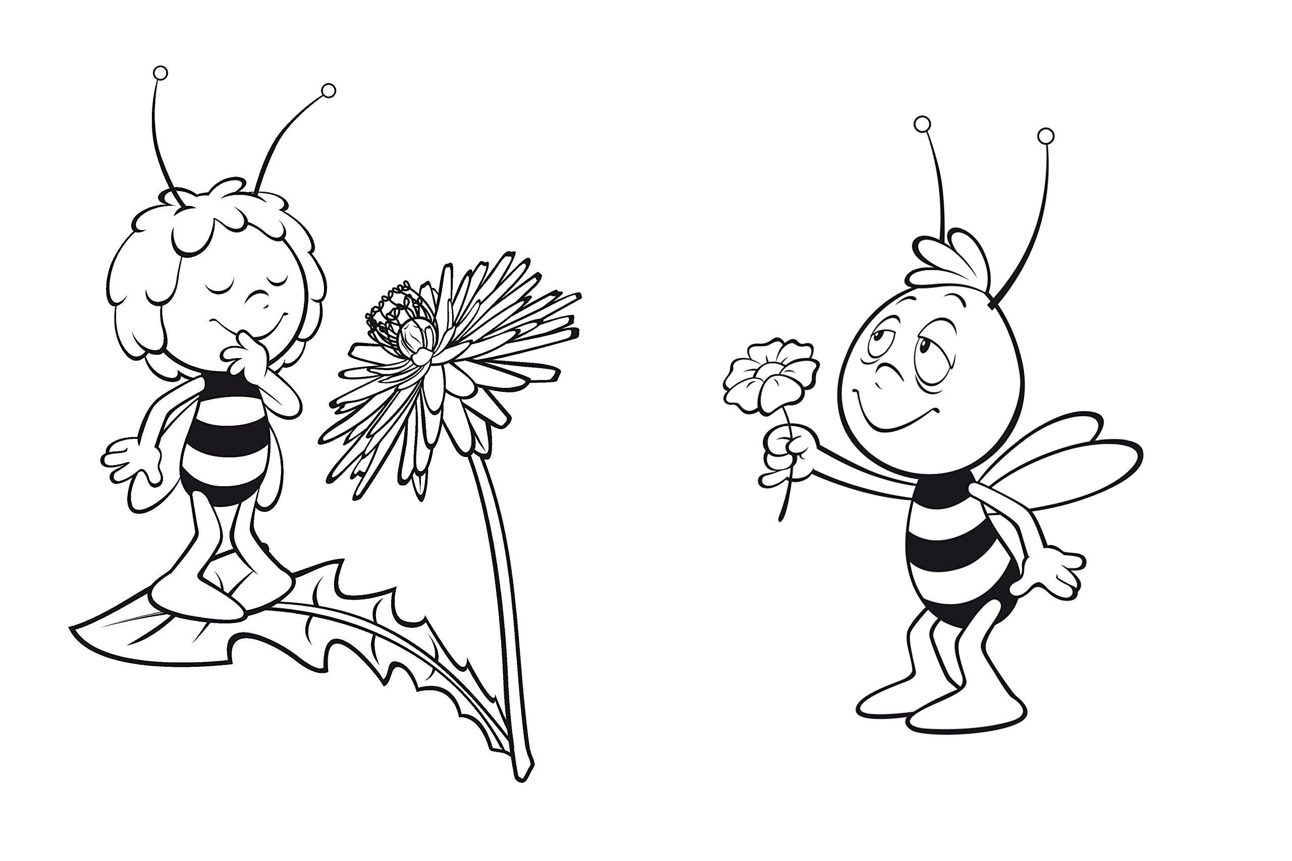 Biene Maja Ausmalbilder Kostenlos Malvorlagen Windowcolor verwandt mit Biene Maja Willi Malvorlage