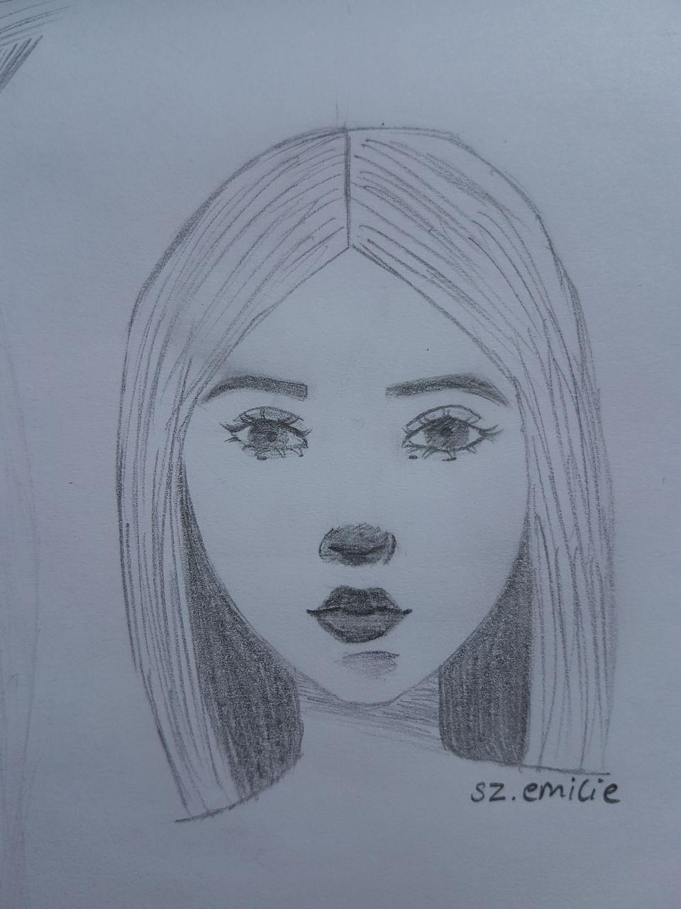 Bild - Gesicht, Anfänger, Bleistiftzeichnung, Portrait Von für Zeichnungen Für Anfänger