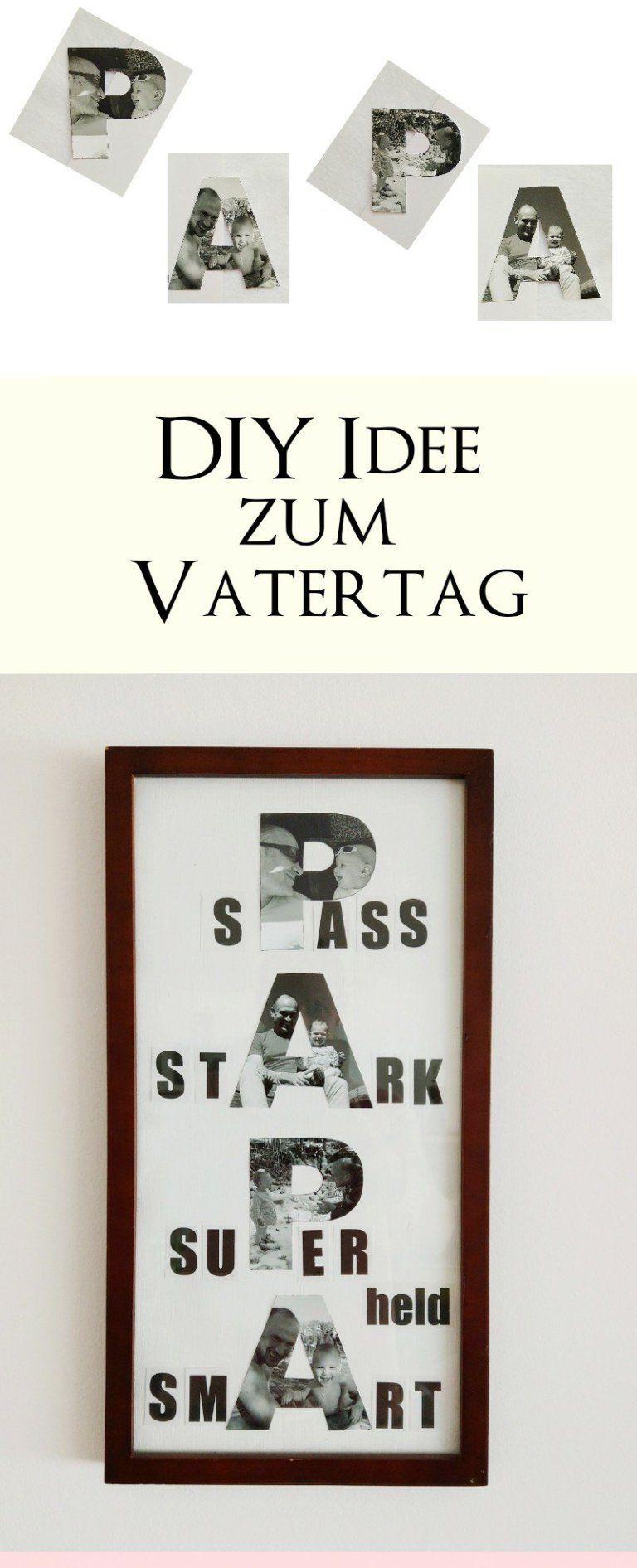Bilder Zum Muttertag Und Vatertag Basteln - 3 Diy-Ideen Mit verwandt mit Vatertag Geschenkideen Zum Selber Machen
