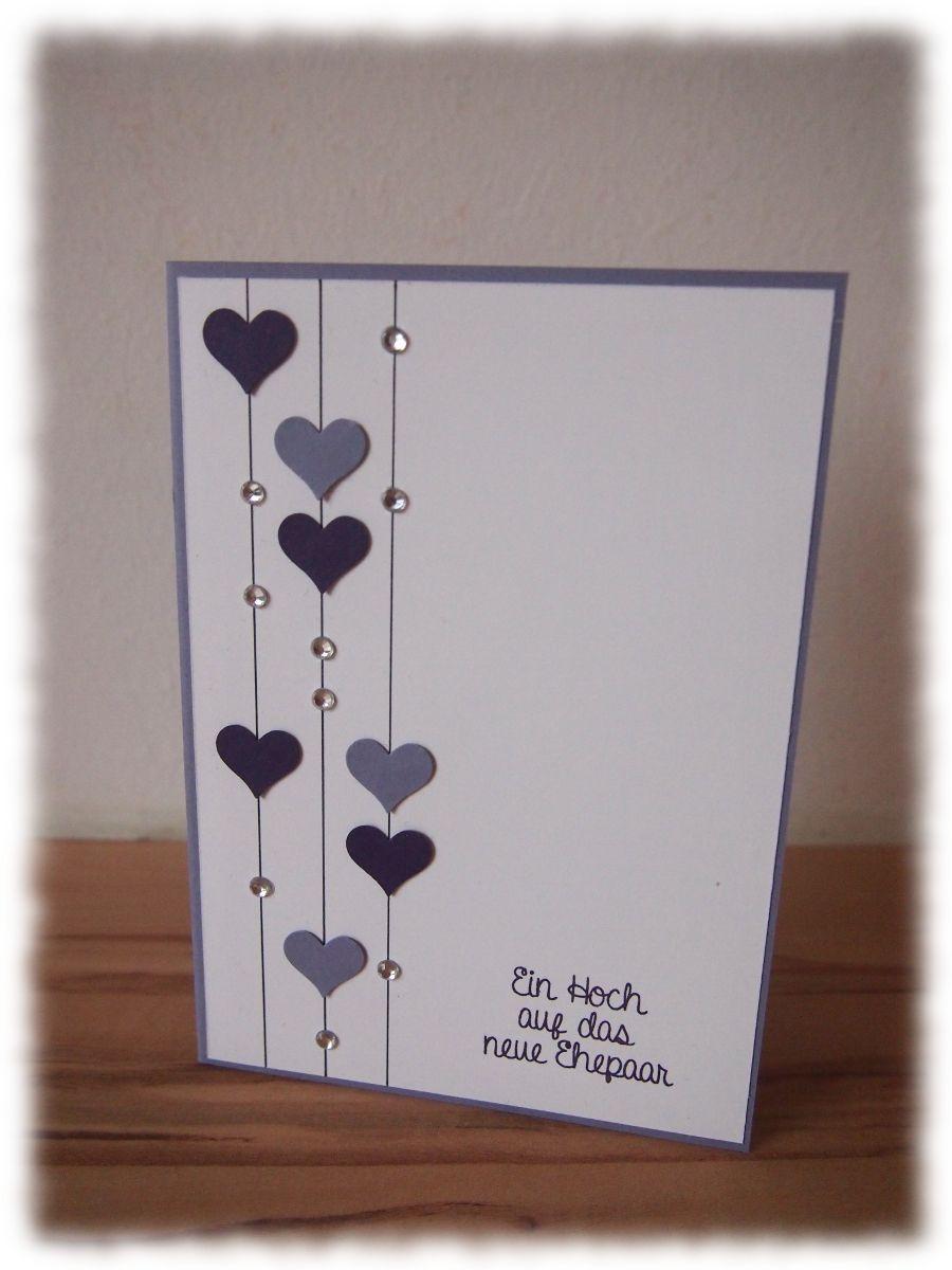 Bildergebnis Für Glückwunschkarte Hochzeit Basteln | Fun ganzes Glückwunschkarten Basteln