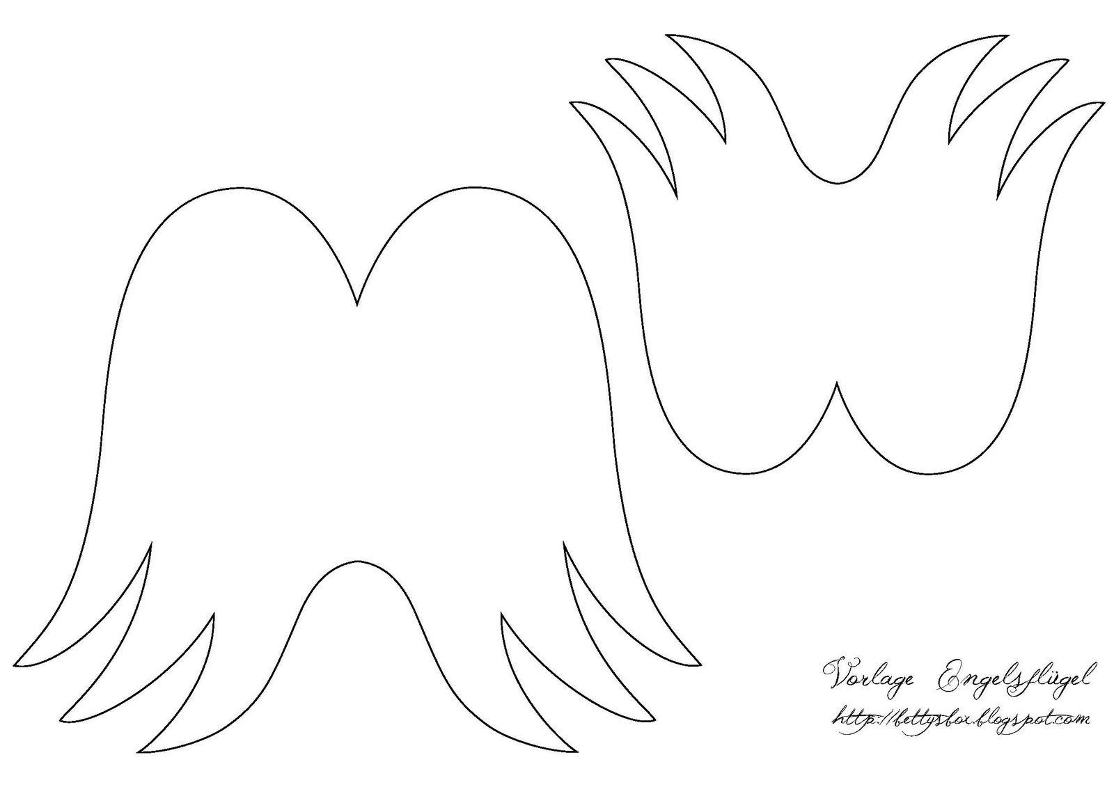 vorlage engelsflügel zum ausdrucken  kinderbilder