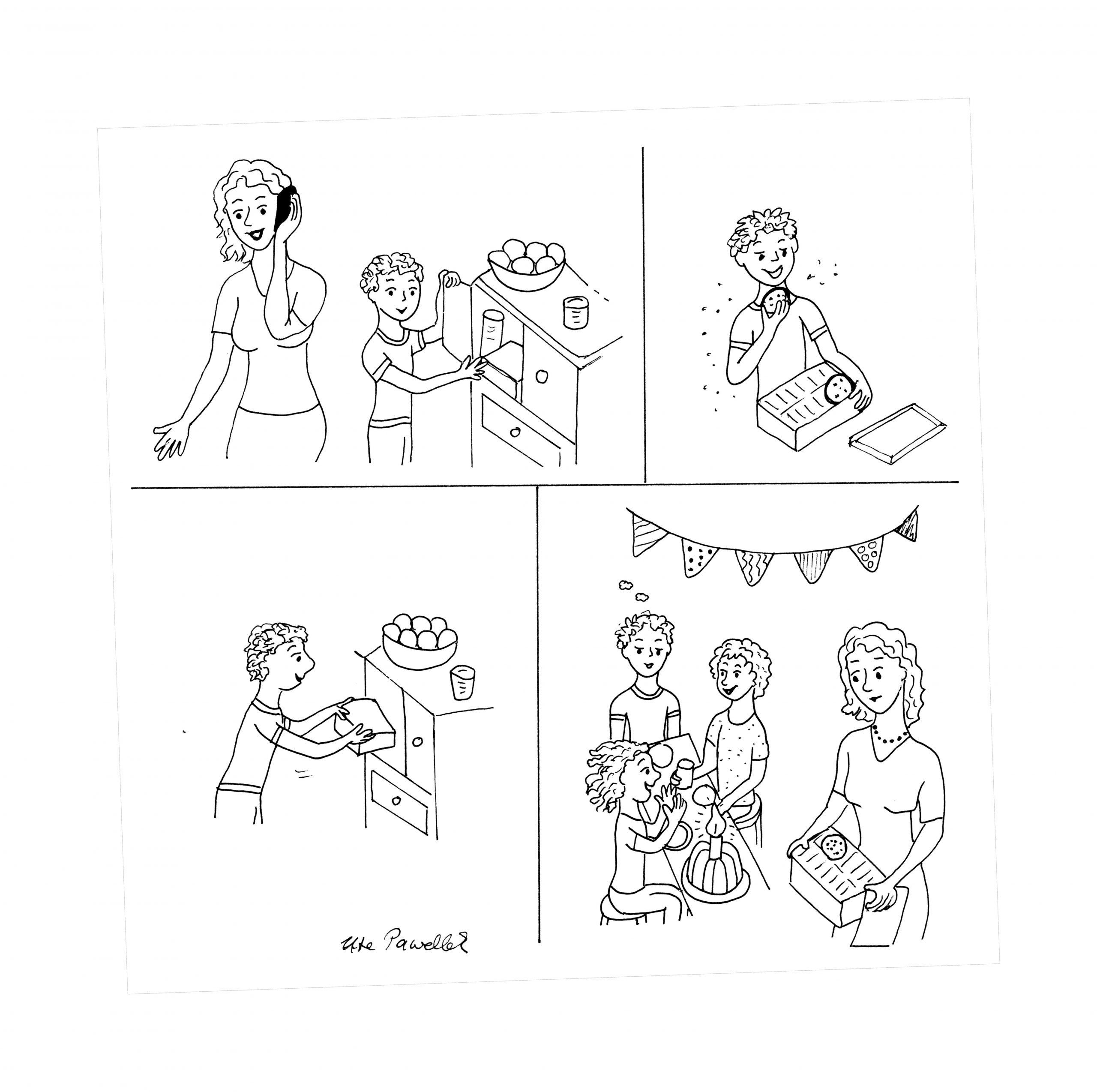 Bildergeschichte Aufgabe Klasse 3: Süße Versuchung (Mit über Aufsatz Bildergeschichte 3 Klasse Kostenlos