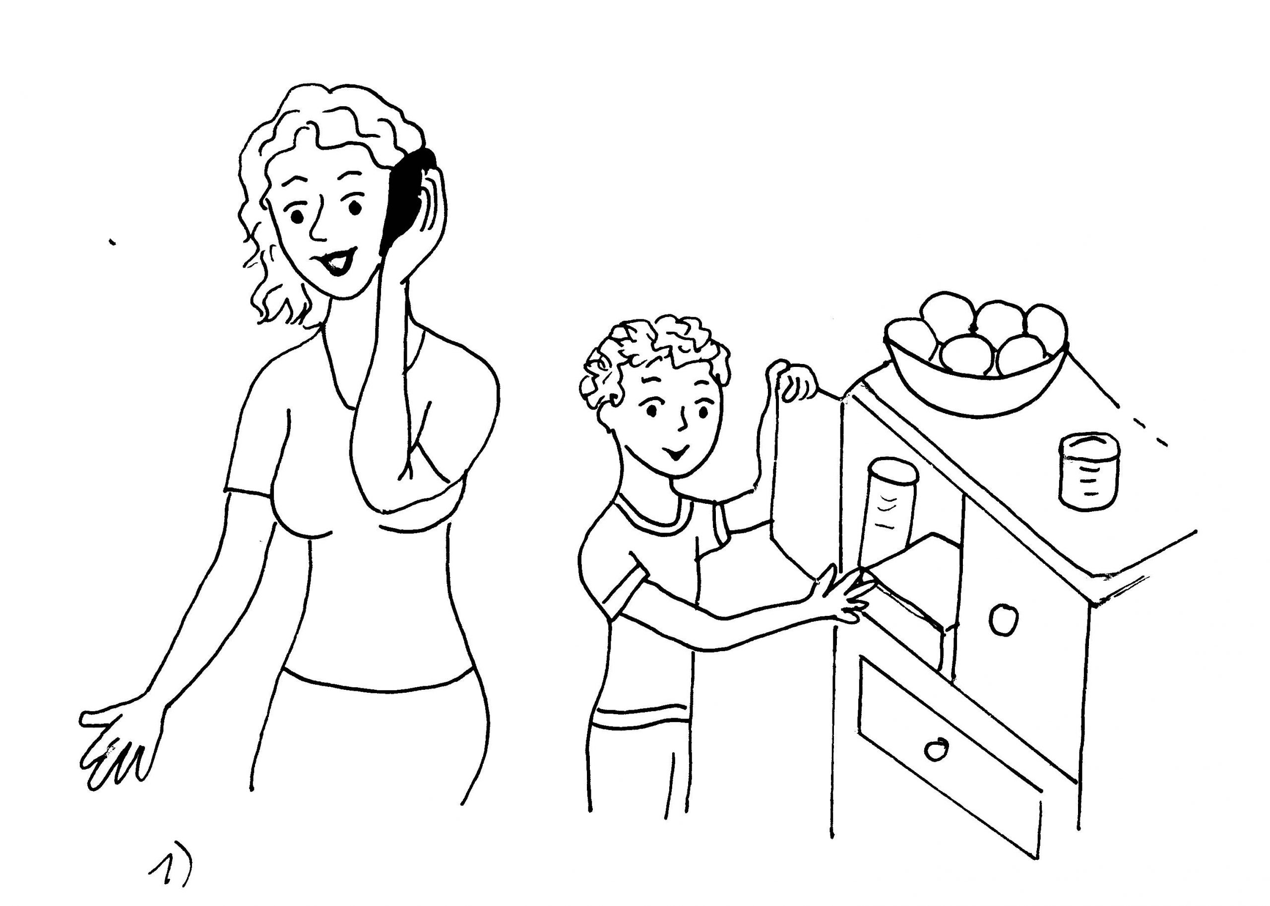 Bildergeschichte Aufgabe Klasse 3: Süße Versuchung verwandt mit Aufsatz Bildergeschichte 3 Klasse Kostenlos