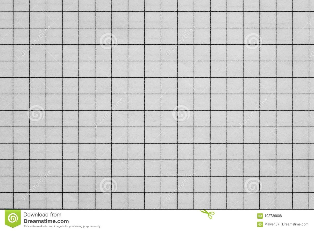 Blatt Des Karierten Papiers Stockfoto - Bild Von Zelle mit Kariertes Blatt