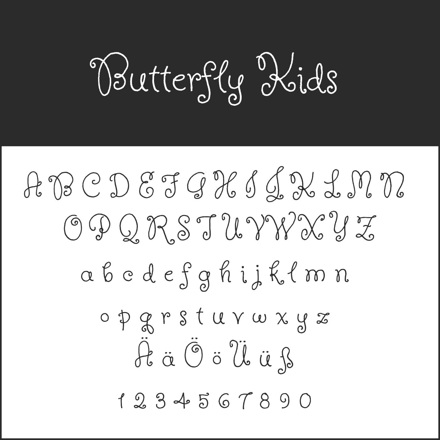 Blickfang Schnörkelschrift: Kostenlose Fonts Zum Download für Verschnörkelte Zahlen Zum Ausdrucken
