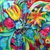 Blumen, Seidenmalerei (Mit Bildern) | Seidenmalerei, Malerei bei Seidenmalerei Motive