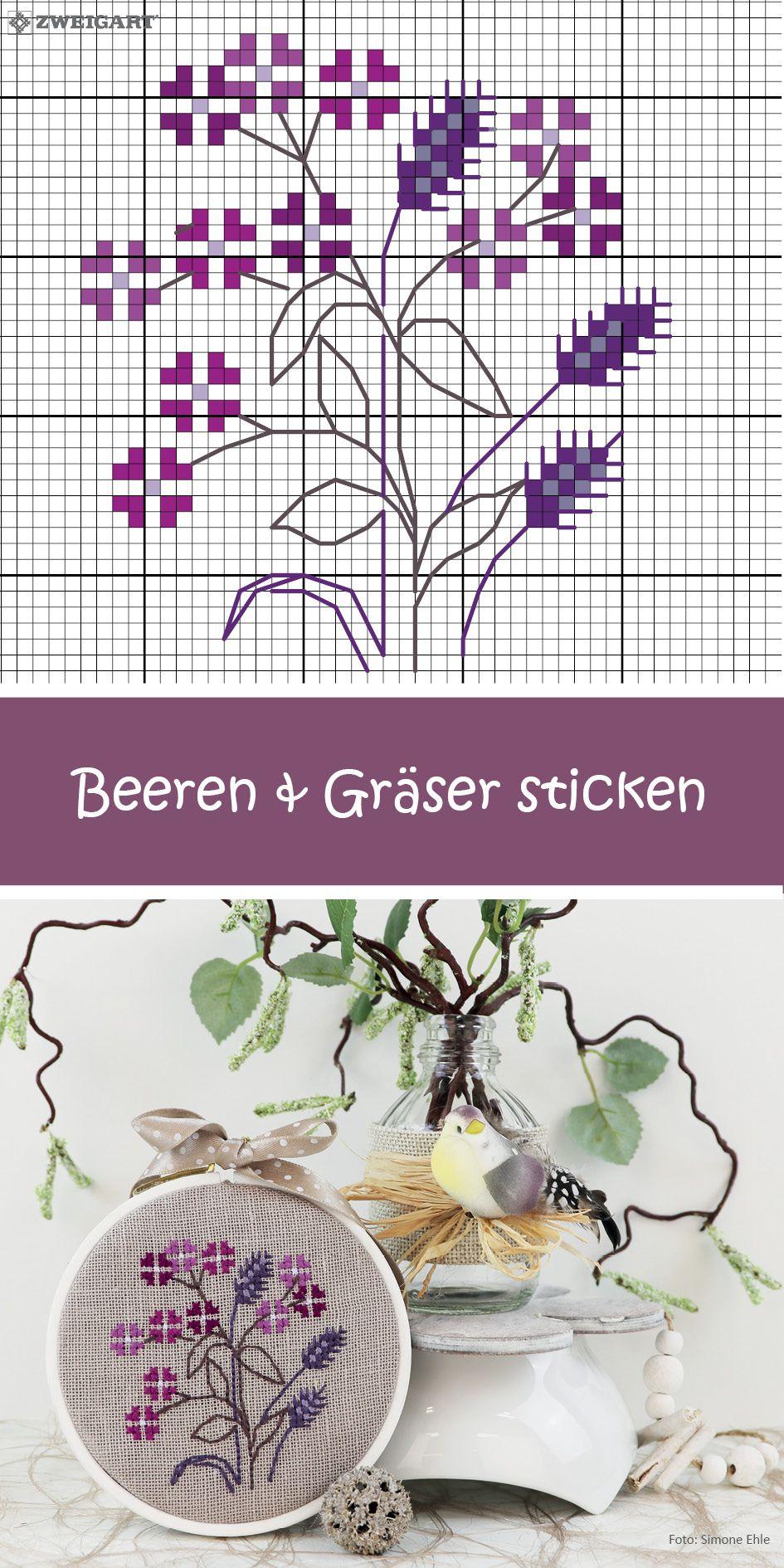 Blumen Und Gräser Sticken - Entdecke Zahlreiche Kostenlose verwandt mit Stickbilder Vorlagen Kostenlos