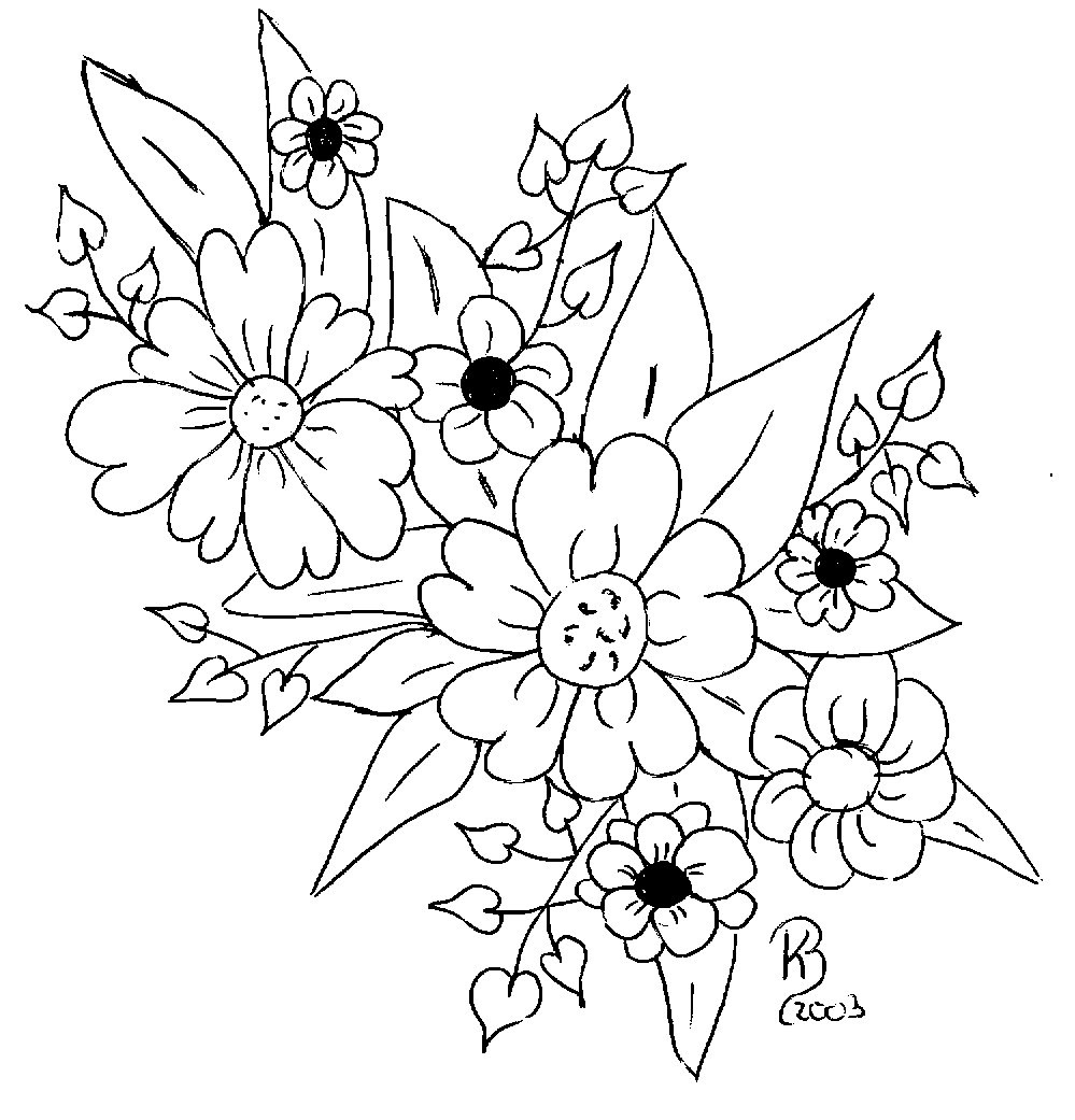 Blumen Vorlagen Zum Ausdrucken Kostenlos - Malvorlagen Für mit Blumenbilder Zum Ausdrucken Kostenlos