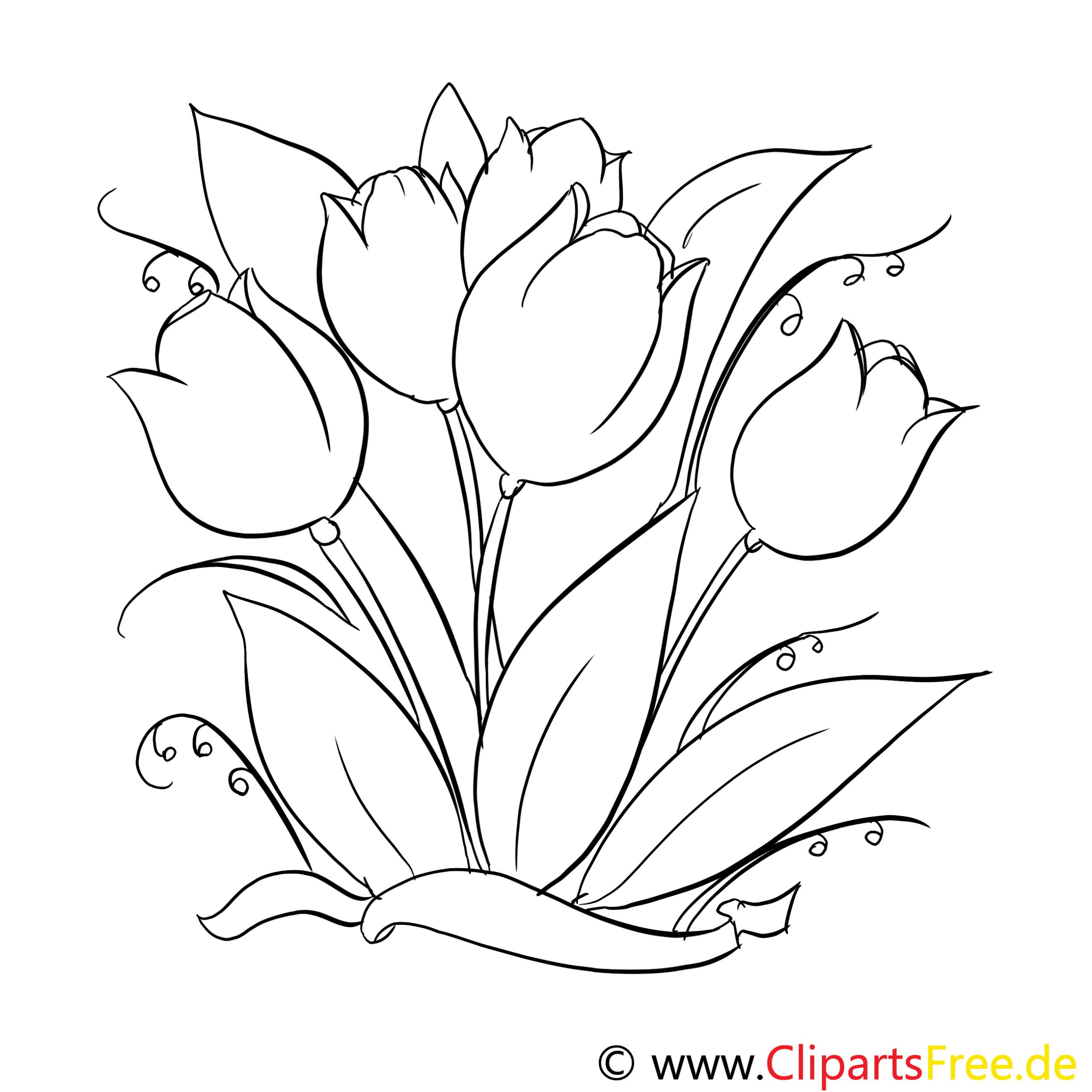 Blumen Vorlagen Zum Ausdrucken Kostenlos - Malvorlagen Für über Blumenbilder Zum Ausdrucken