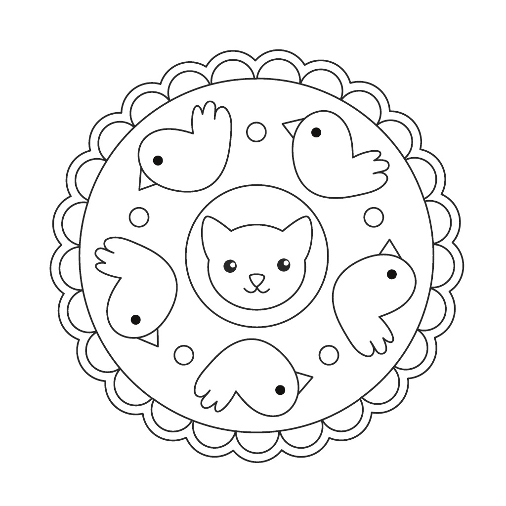 Bod-Leseprobe: Mandala Für Kinder - Mandala Ausmalen Mit 37 mit Kindermandala