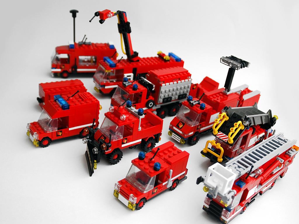 Bos-Blogs (4): Die Lego-Feuerwehr Aus Farnheim in Lego Flughafenfeuerwehr