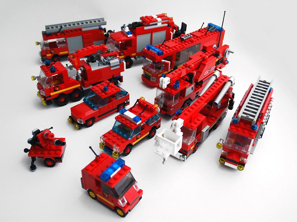 Bos-Blogs (4): Die Lego-Feuerwehr Aus Farnheim über Lego Flughafenfeuerwehr