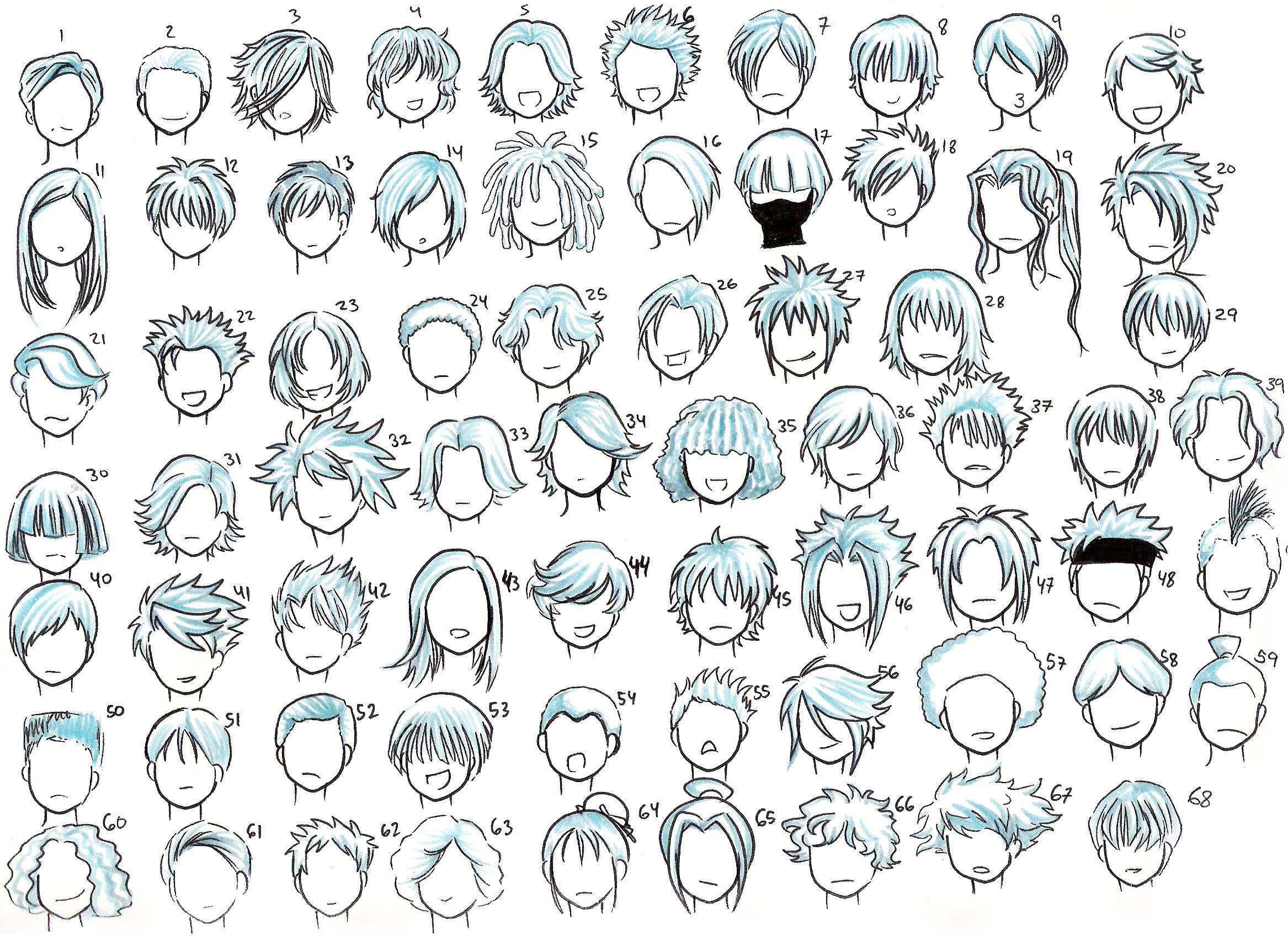 Boy Hair | Comic Zeichnen Lernen, Frisuren Zeichnen verwandt mit Comic Zeichnen Lernen