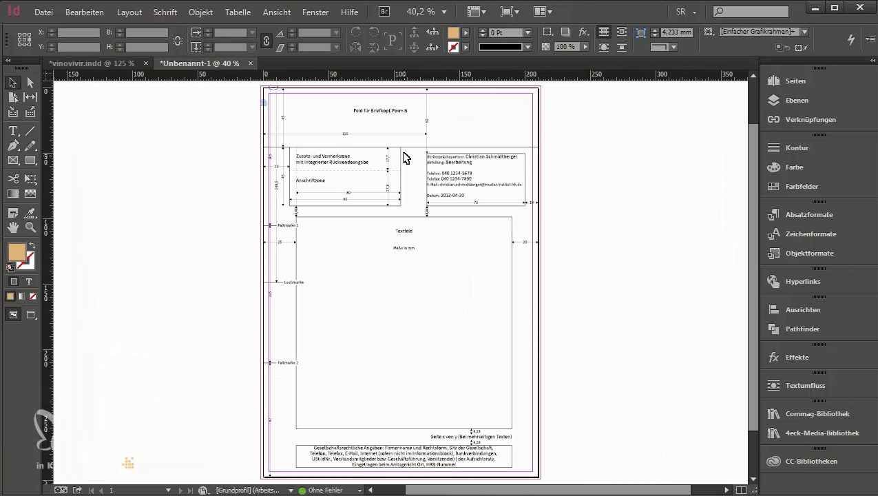 Briefpapier-Design Trifft Din 5008: So Erstellen Sie Ihre mit Briefpapier Vorlagen