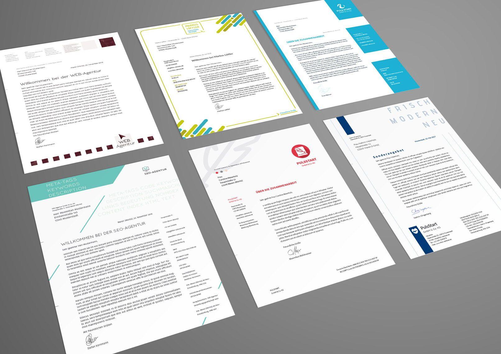 Briefpapier-Vorlagen Zum Ausdrucken (Mit Bildern innen Briefpapier Vorlagen
