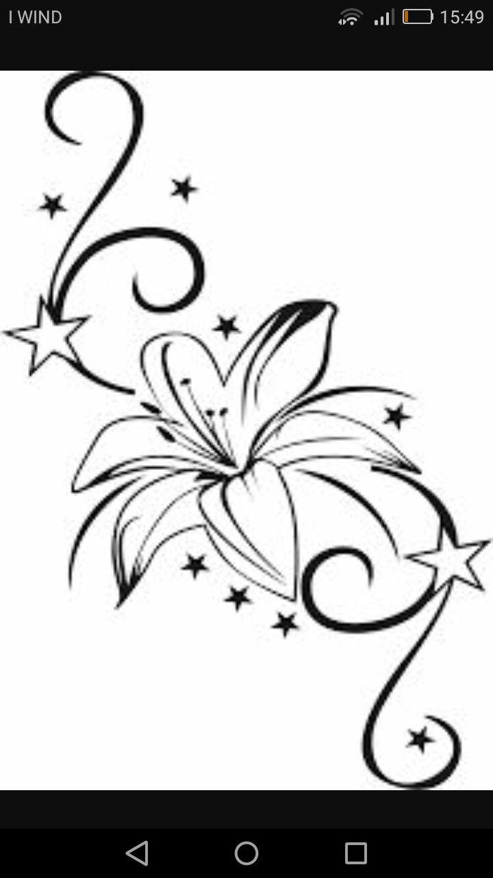 Broderie-Bild Von Bituit   Tattoo Motive Vorlagen, Tattoo verwandt mit Sterne Tattoo Vorlagen Kostenlos