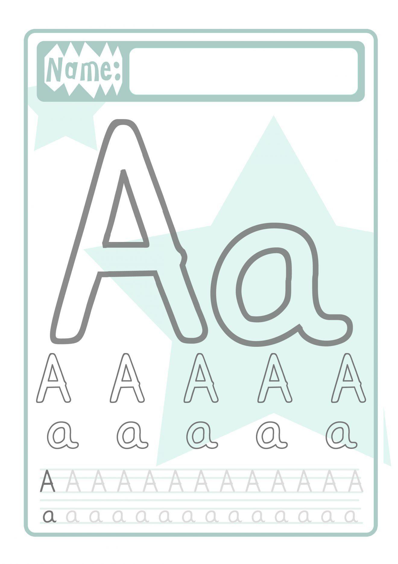 Buchstaben Druckvorlage Für Kinder | Buchstaben Lernen in Buchstaben Lernen Für Vorschulkinder