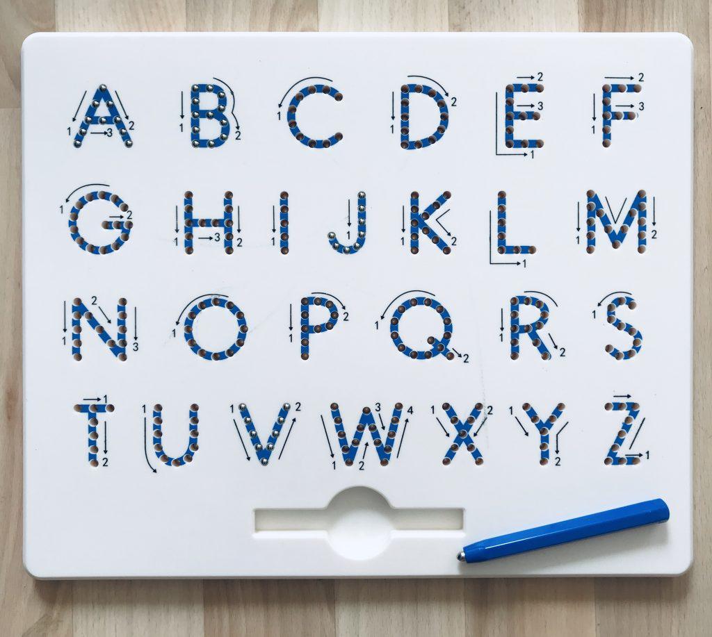 Buchstaben Schreiben – Lerwörterstation | Grundschulteacher über Bilder Aus Buchstaben