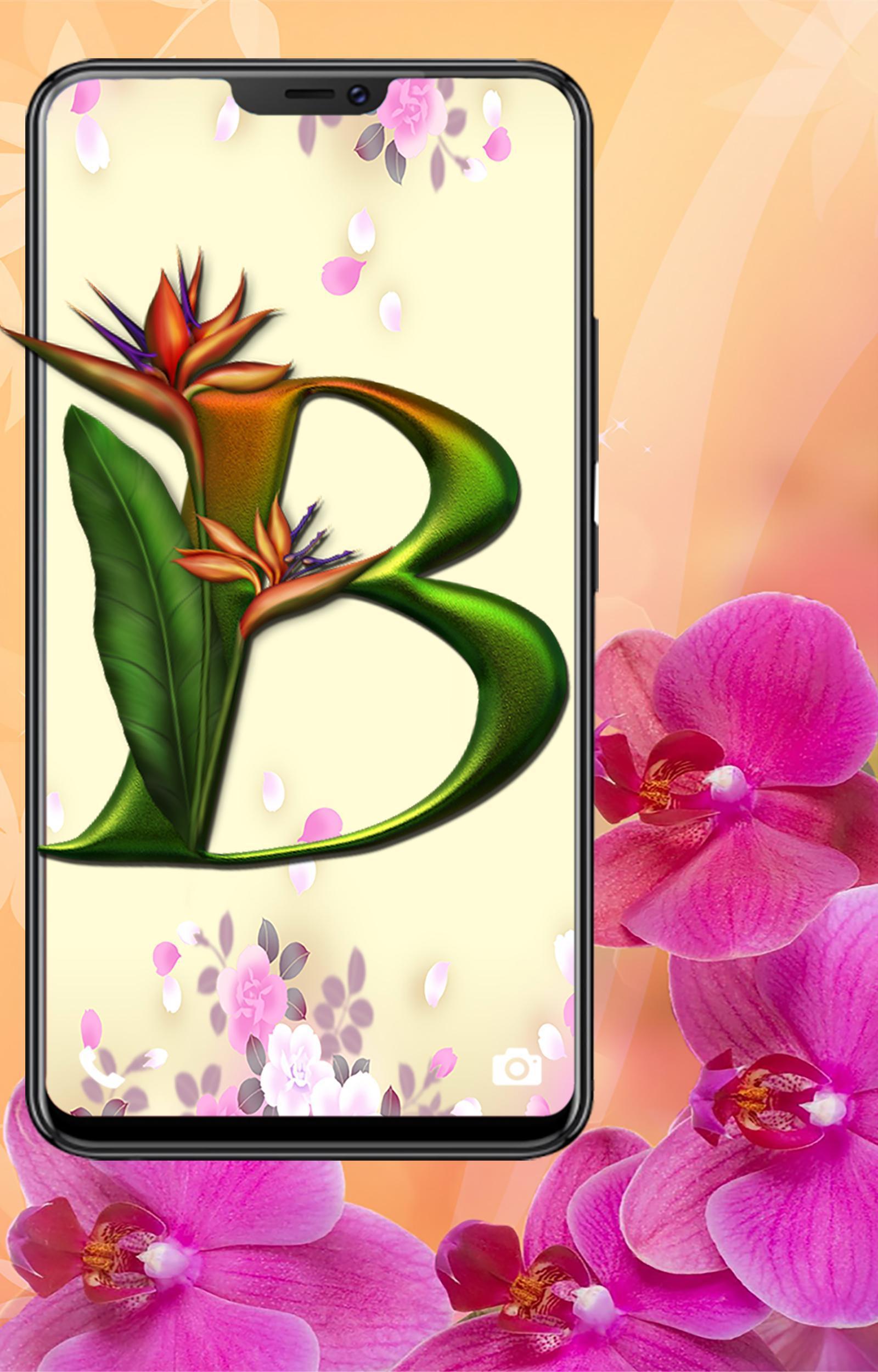 Buchstaben Wallpaper Hd (Blume) Für Android - Apk Herunterladen verwandt mit Blume Mit 6 Buchstaben