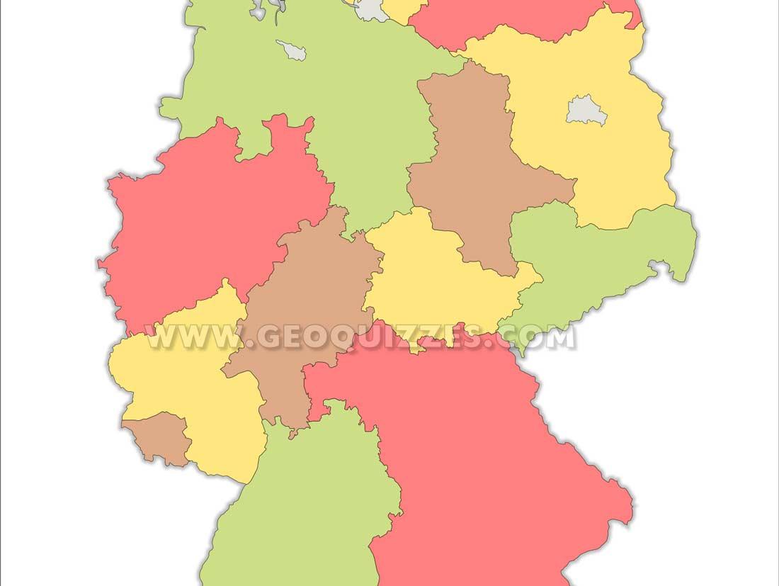Bundesländer Hauptstadt Quiz – Erdkunde Spiele – Geoquizzes mit Bundesländer Deutschland Mit Hauptstädten Lernen