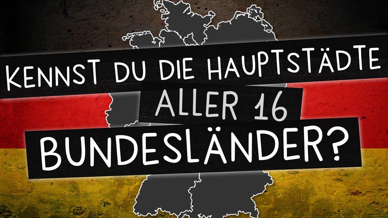 Bundesländer Und Ihre Hauptstädte: Kennst Du Alle 16? bestimmt für Landeshauptstädte Deutschland Liste