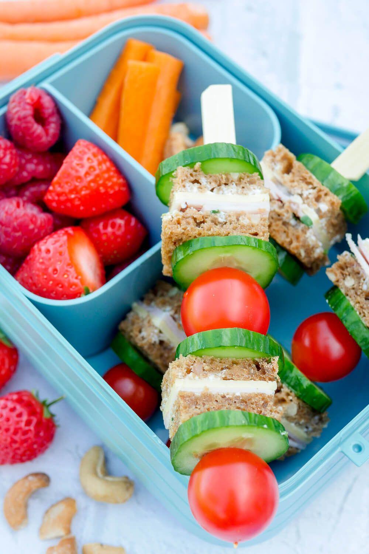 Bunte Brotspieße - Ein Gesundes Lunchbox-Rezept Für Den Kindergarten mit Kochen Mit Kindern Im Kindergarten Rezepte