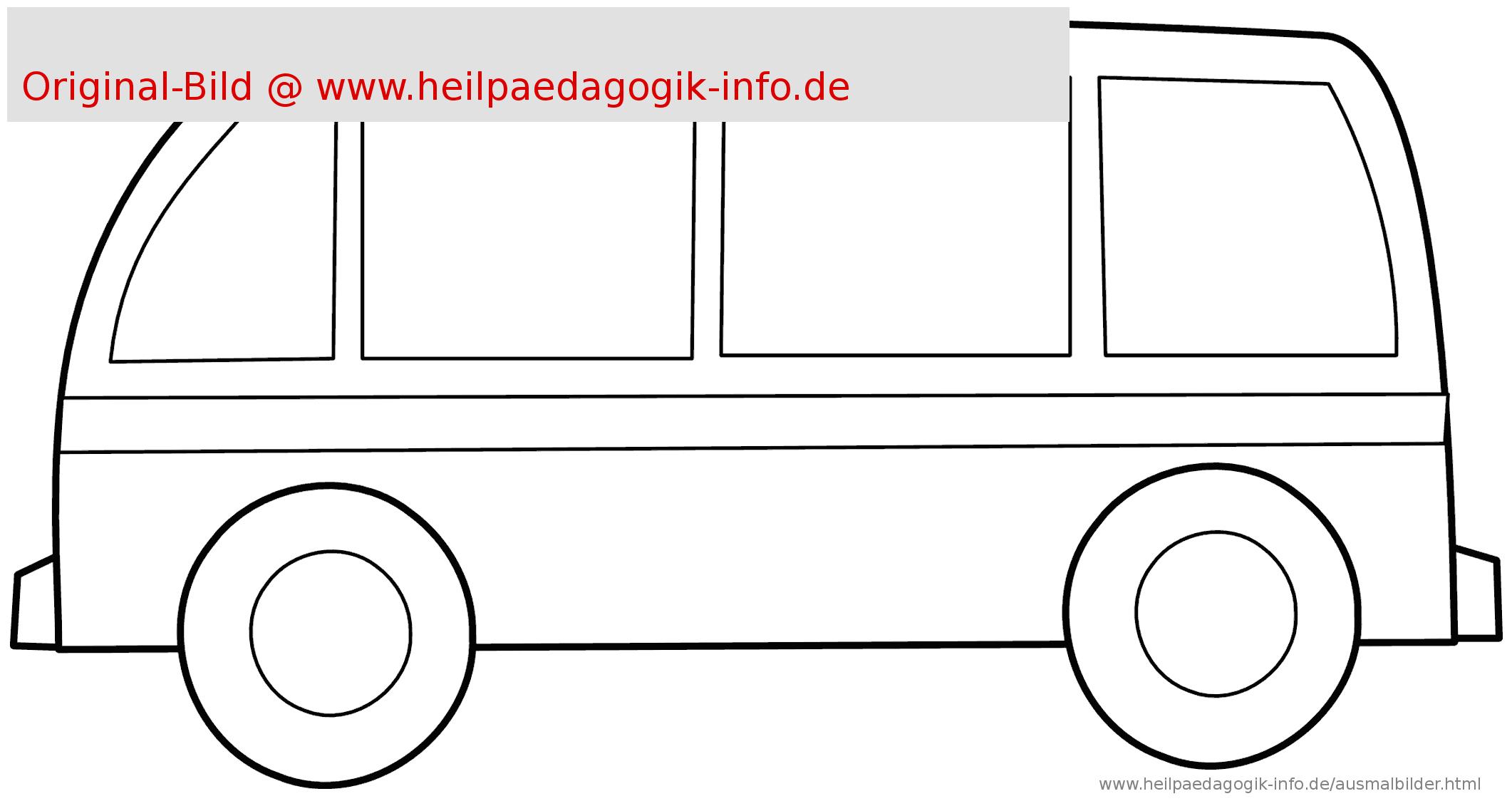 Bus Malvorlagen | Coloring And Malvorlagan bestimmt für Ausmalbild Bus