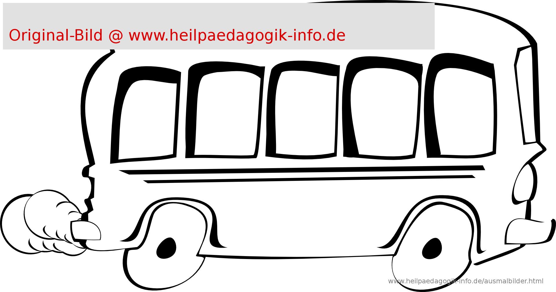 Bus Malvorlagen | Coloring And Malvorlagan ganzes Ausmalbild Bus