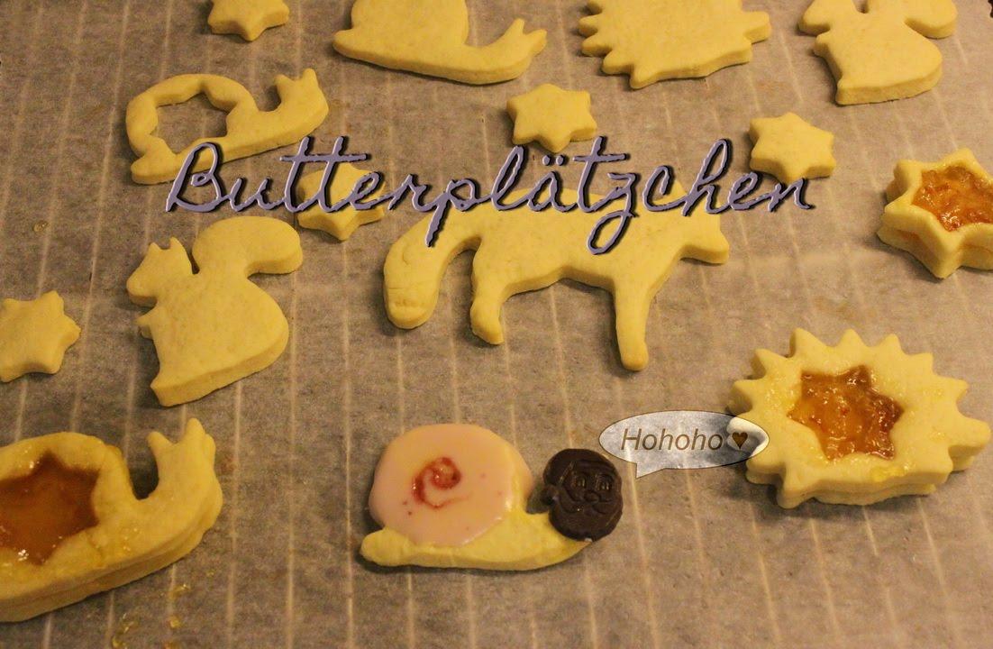 Butterplätzchen Rezept - Plätzchen Rezepte Für Weihnachten - Keks Rezept -  Plätzchen-Woche #1 innen Einfache Rezepte Für Plätzchen Weihnachten