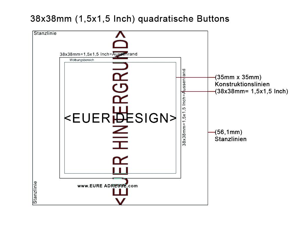 Buttons Bestellen – Vorlagen Und Downloads - in Buttons Vorlagen