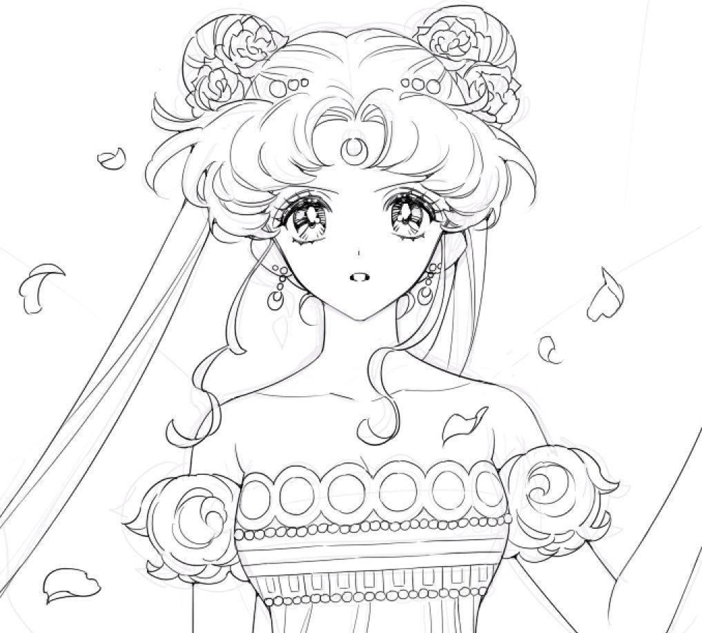 By Semos2Ba2 | Sailor Moons, Sailor Moon Kristall, Sailor innen Manga Bilder Zum Ausmalen