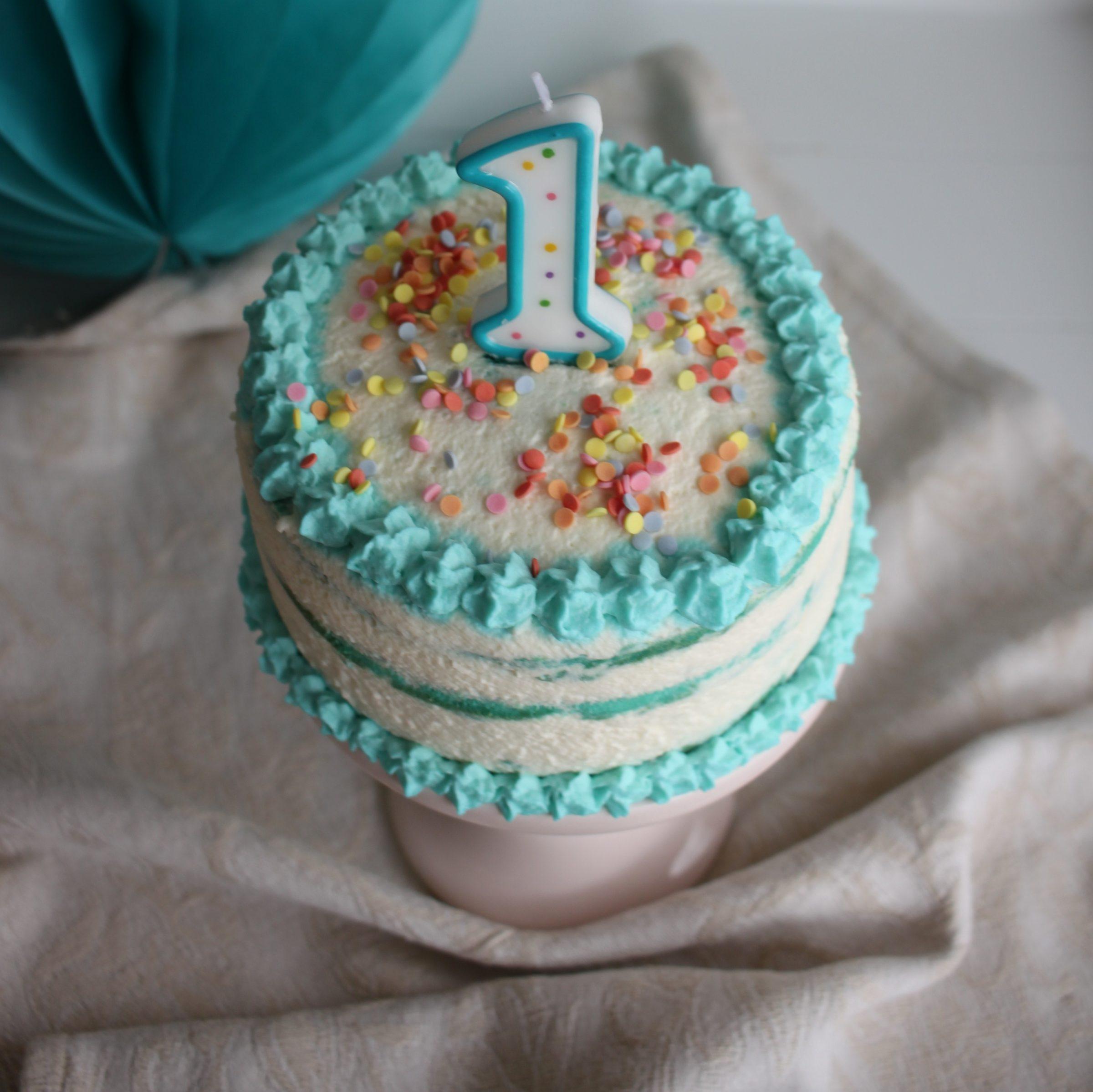 Cake Smash Torte, Ganz Einfach Selbst Herstellen über Geburtstagstorte Für Jungs
