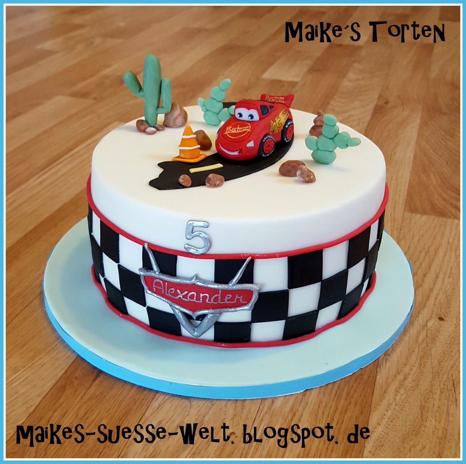 Cars Torte (Avec Images) innen Geburtstagstorte Für Jungs