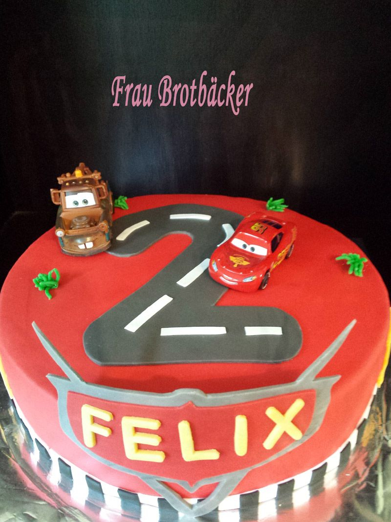 Cars Torte   Torte Kindergeburtstag Junge, Kindergeburtstag innen Torte Zum 2 Geburtstag