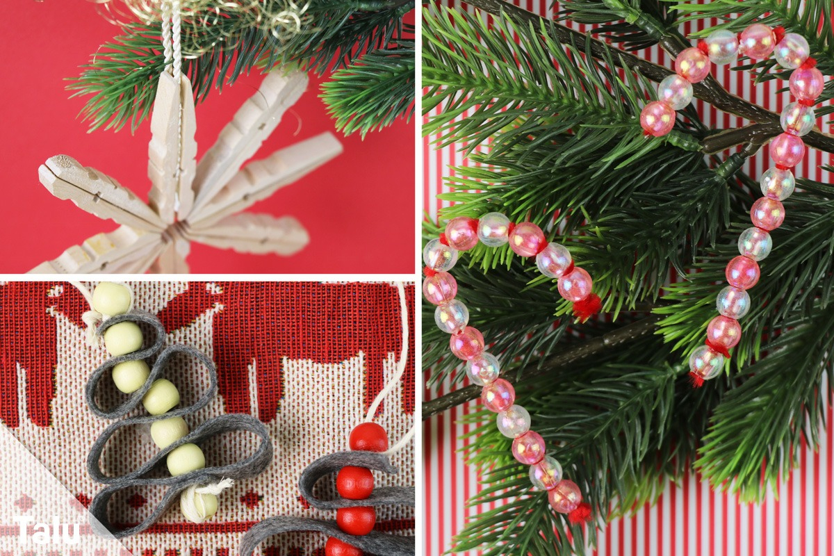 Christbaumschmuck Selber Machen - 10 Weihnachtliche über Christbaumschmuck Selber Machen Kinder