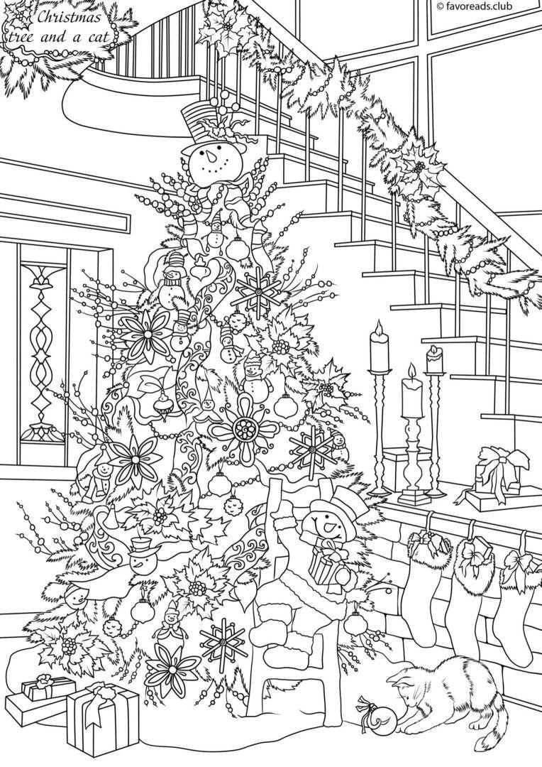 ausmalbilder weihnachten für erwachsene  kinderbilder