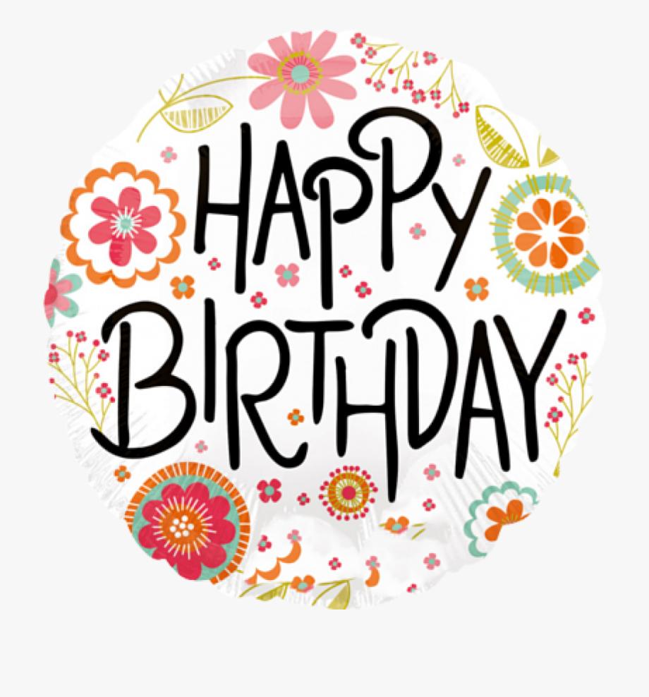 Clipart Geburtstag Blumen - Happy Birthday Geburtstags ganzes Cliparts Geburtstag Kostenlos