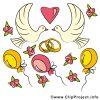 Clipart Glückwunsch Zur Hochzeit Kostenlos in Hochzeitsbilder Zum Ausdrucken