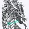 "Coloring Pages - Adult Coloring Zenzia ""drache"" Made By Bri verwandt mit Ausmalbilder Drachen"