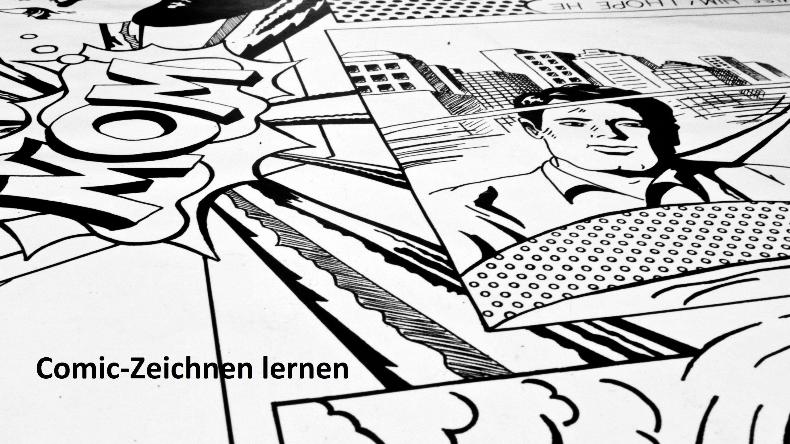 Comic-Zeichnen Lernen: Fünf Gute Online-Tutorials für Comicfiguren Zeichnen Lernen